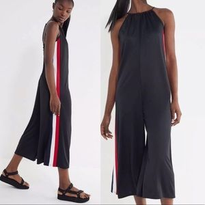 UO Karina Side Stripe Wide Leg Jumpsuit XS NEW
